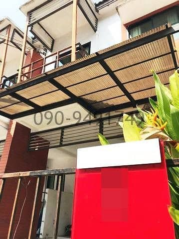 Townhome for rent, The Log Town Sukhumvit 101, The Log Town Sukhumvit 101, location on BTS Sukhumvit 101