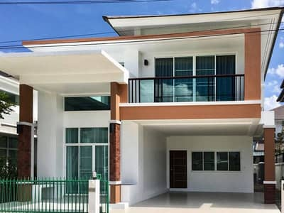 4 Bedroom Home for Rent in Saraphi, Chiangmai - For Rent The Urbana 5 Promenada intersection, Tha Sala, Saraphi, Chiang Mai, 4 bedrooms, 50 sq m.