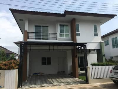 3 Bedroom Home for Rent in Mueang Chiang Rai, Chiangrai - House for rent, Single House for rent, Sinthanee 11 Project, Chiang Rai.