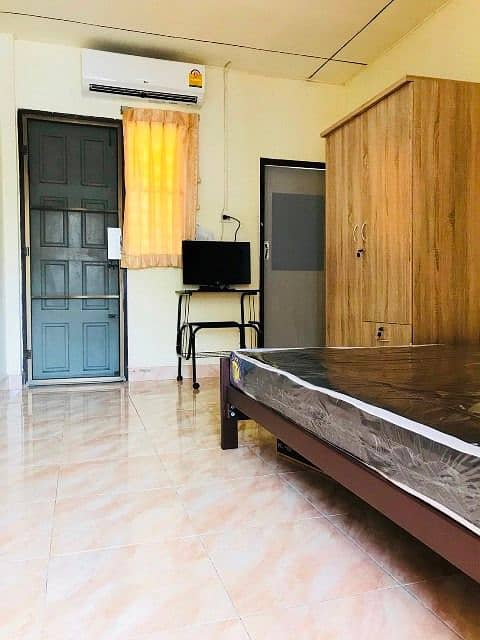 Dormitory apartment Ladprao 83 for rent ready.