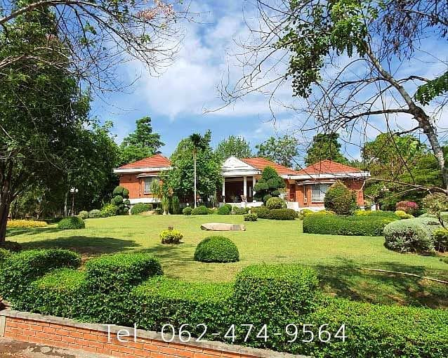 Luxury villa for sale, Muak Lek District, very cheap for sale, ready to move in, imported furniture, very beautiful house PRNB2157 Australian village Muak Lek on an area of 628 sq m.