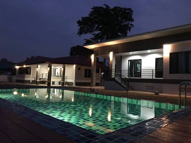 House with pool for rent Nong Hoi.