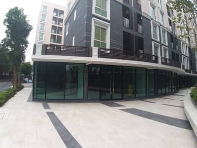 Commercial Space for Sale in Lak Si, Bangkok - Shop for sale, shop floor in PLUM CONDO MIX CHAENGWATTANA Plum Condo Mix Chaengwattana, area 41.69 sq m, 4.57 min.