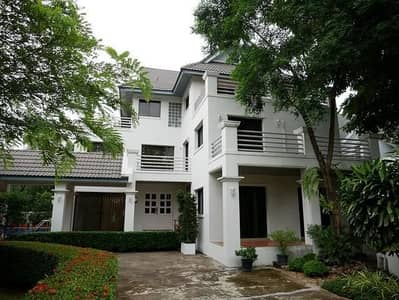 3 Bedroom Home for Rent in Khan Na Yao, Bangkok - 3 storey detached house for rent, ready to move in, Seri Thai area, Navatanee Village