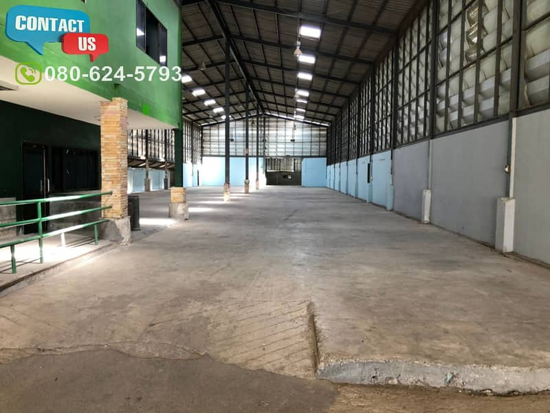 B75 Warehouse for rent 1,270 sq m with cheap office, Sai Noi district, Nonthaburi