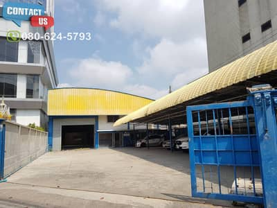 Factory for Rent in Bang Na, Bangkok - A95 Warehouse for rent 1,780 sqm. On the main road near Central Bangna