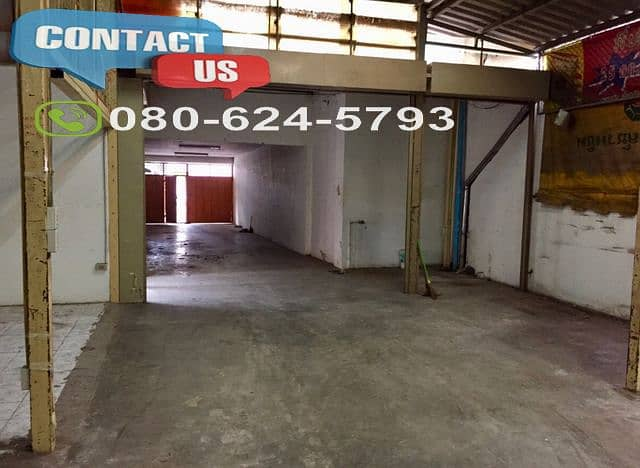 A09 Warehouse for rent 532 sq m with office in Bang Si Tao Poon area
