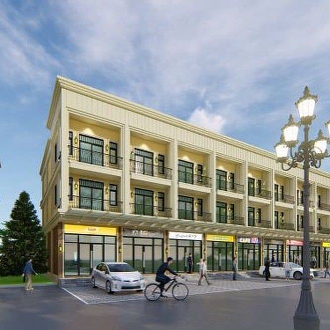 New commercial buildings, 30units on the main road, Salaya, Nakhon Chai Si