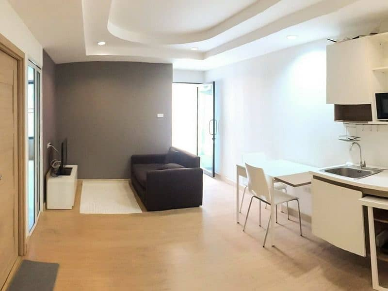 Sale Trams 1, Trams 1, Jed Yot Condo, 40 sqm, 6th floor, near Maya shopping mall and Nimman Road, Condo for rent 10,000 baht