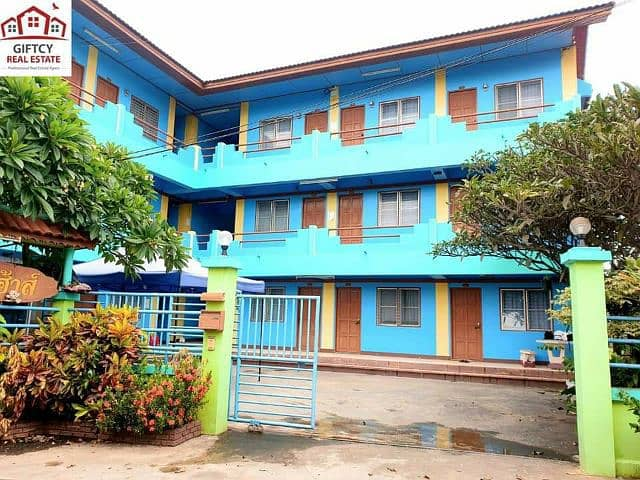 ‼ Dormitory for sale in front of Mae Jo University with furniture, cheap price, good location, buyers can continue to manage