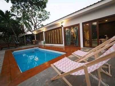 3 Bedroom Home for Rent in Klaeng, Rayong - House for rent Single house with pool villa Private pool near the sea