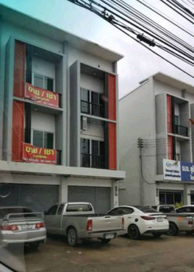 Commercial building for rent Sai. Rayong Baan Khai Mueang Rayong