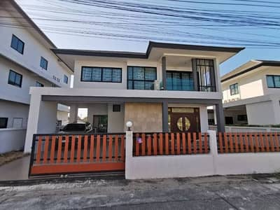 3 Bedroom Home for Rent in Mueang Rayong, Rayong - House for rent, Rung Rueng Place Village Rayong near Central Rayong