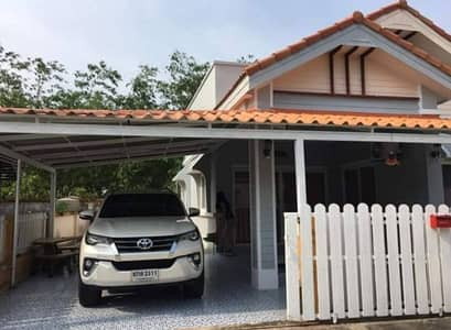 2 Bedroom Home for Rent in Mueang Rayong, Rayong - House for rent Village of Dan Mai Villa Phase 2 Nong Mahad