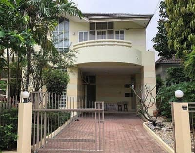4 Bedroom Home for Rent in Saphan Sung, Bangkok - 2 storey detached house for rent, Home Place Village, Ramkhamhaeng 140 Road, area 95 sq m, behind the corner with 4 bedrooms, 3 bathrooms, rental fee 35,000 baht.