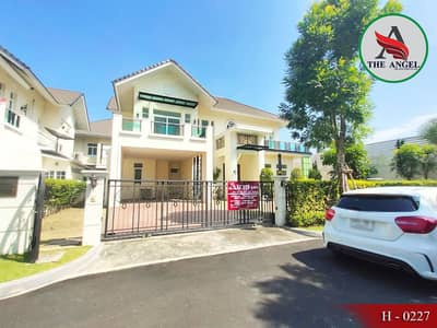 2 storey detached house for sale, behind the edge of the Palazzo Ratburana, Rama 3