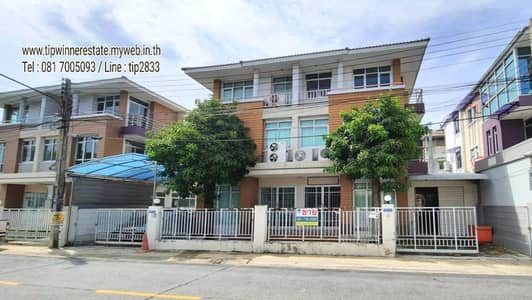 Office for Sale in Sam Phran, Nakhonpathom - Selling home office 2 after Ladaporn Phutthamonthon Sai 5, area connected after 40 sq m. , Sold separately inside, did not pass each other. Near Lotus Sai 5