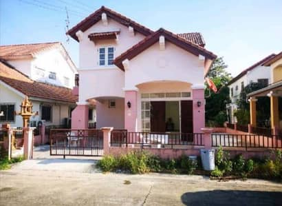 2 Bedroom Townhouse for Rent in Mueang Chon Buri, Chonburi - House for rent in California, near Sripatum, Amata, Chonburi.