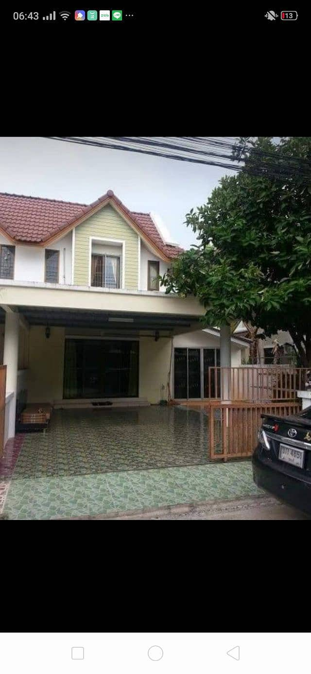 Townhouse for rent, The Country Village, New Town Behind the electric market, Samet Subdistrict