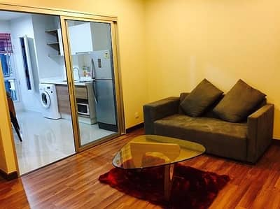 2 Bedroom Condo for Rent in Mueang Nonthaburi, Nonthaburi - Condo for sale Centric Tiwanon Station 2 bedrooms, 1 bath, ready to move in.