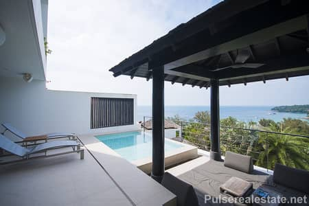 3 Bedroom Apartment for Sale in Thalang, Phuket - Luxurious Foreign Freehold Sea View Surin Heights Residence for Sale