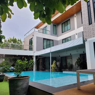 5 Bedroom Home for Sale in Bang Lamung, Chonburi - Luxury Pool Villa 5 bed rooms 6 bath rooms 28mlb