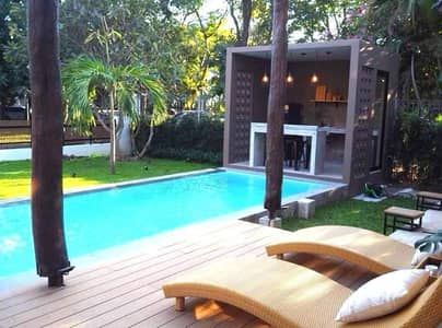3 Bedroom Home for Rent in Mueang Chiang Mai, Chiangmai - For rentBoutique luxuries pool villa , 5 minutes drive to CMU and Nimmanhaemin.