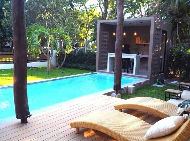 For rentBoutique luxuries pool villa , 5 minutes drive to CMU and Nimmanhaemin.