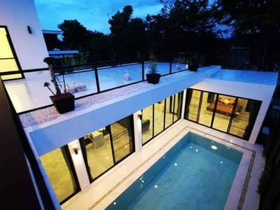 4 Bedroom Home for Rent in Mueang Chiang Mai, Chiangmai - Beautiful Modern house 2 Stories with private swimming Pool.  House for rent near the city.
