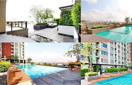 Condo for sale and rent at Lumpini Place Suksawat-Rama 2.