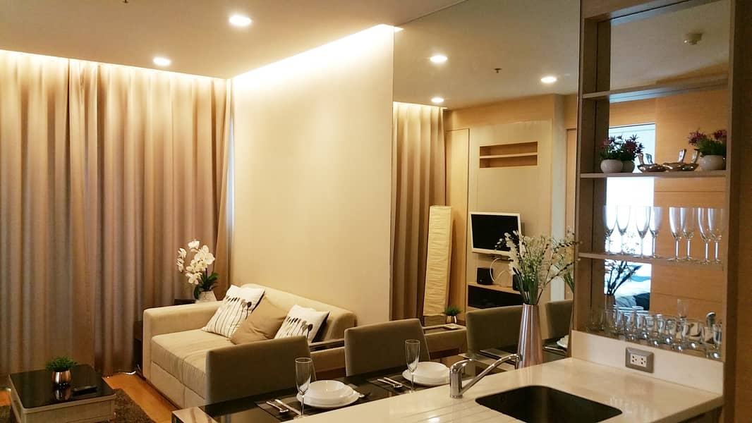 Homely 1-BR Condo at The Address Asoke