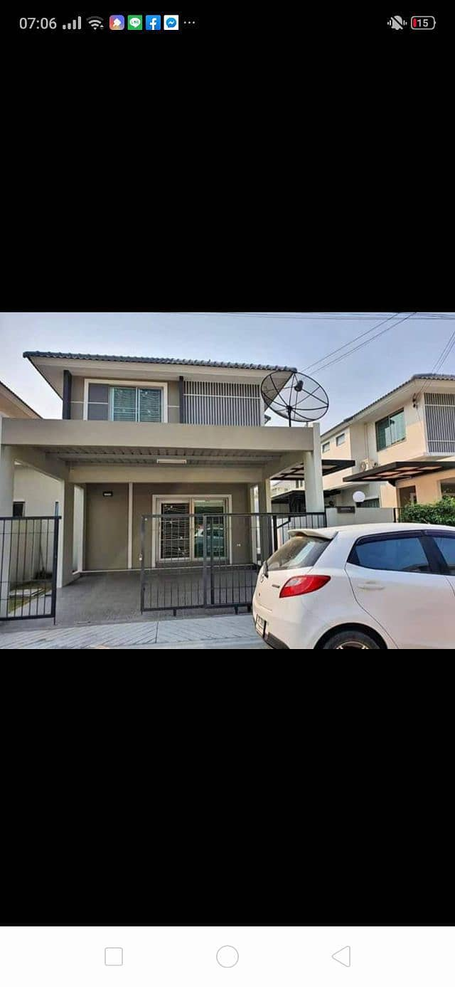 House for rent in the village of Life Home Soi 12 Na Pa, Chonburi