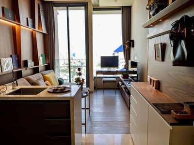 1 Bedroom Condo for Rent in Watthana, Bangkok - Wonderful High Rise 1-BR Condo at The Esse Asoke