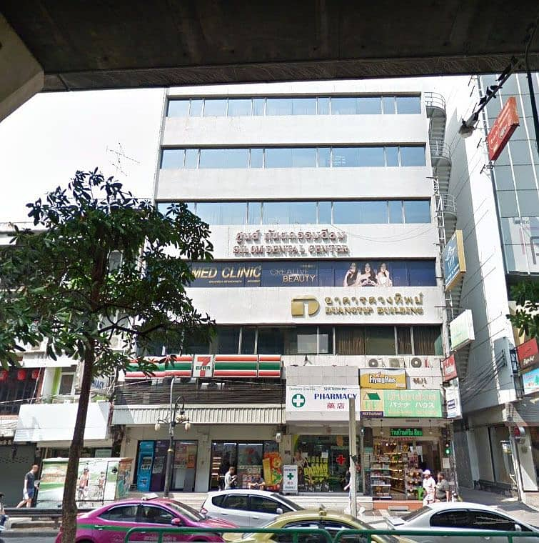 Sale of land and buildings on Silom road.