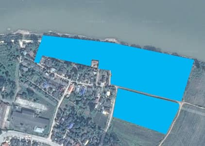 Land for Sale in Chiang Saen, Chiangrai - Land for sale next to the Mekong River, Chiang Saen District, Chiang Rai Province, near Chiang Saen New Commercial Port, size 28-3-69 rai