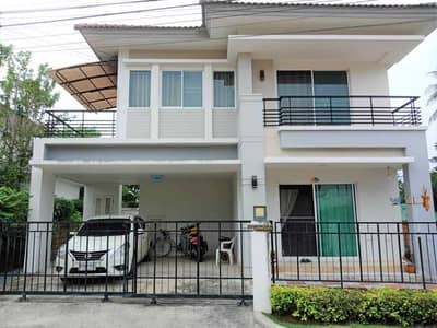 2 storey detached house for sale, The Grand Wongwaen, Pracha Uthit, area 65.3 square meters, 3 bedrooms, 3 bathrooms, Thung Khru, Rama 2, Rat Burana.