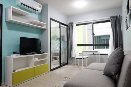 1 Bedroom Condo for Rent in Don Mueang, Bangkok - Modern 1-BR Condo at Grene Condo Don Mueang-Song Prapha