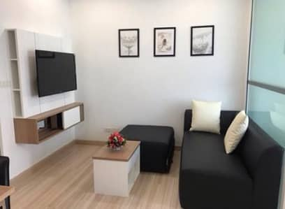 1 Bedroom Condo for Rent in Mueang Nonthaburi, Nonthaburi - Homely 1-BR Condo   6 Mo. Avl.