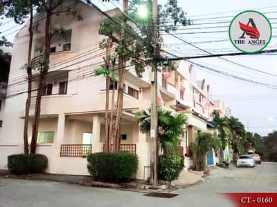3-storey townhome, Bearing 25, ready to move in, Sukhumvit 107 (corner room)