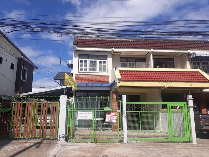 2-storey detached house for rent, 2 bedrooms, 2 bathrooms, with parking, Ban Don, Surat Thani Province, convenient transportation