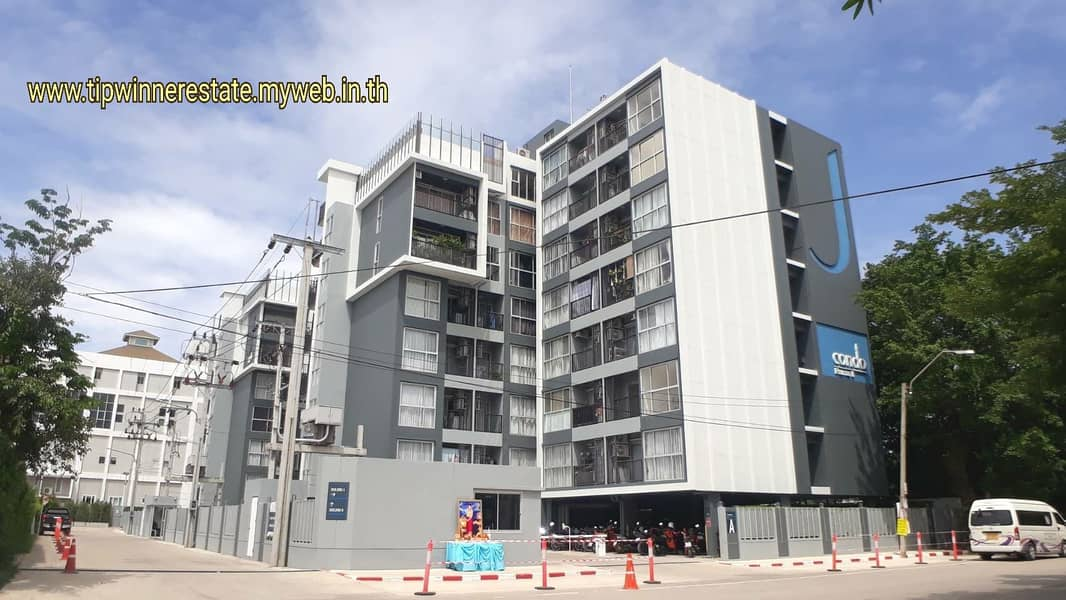 Sale J Condo Rama 2, new room, 3rd floor, fully furnished, behind Bang Khun Thian district Near Central Rama 2
