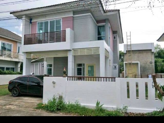 House for rent, detached house, Dee Ya, Valet, Thipphirom, behind Hang Dong District, near Kad Farang, Chiang Mai