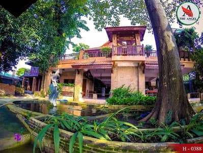 House for sale in teak wood. Thai Traditional House on the Ayutthaya River