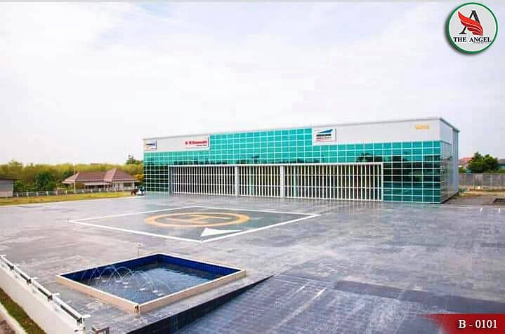 Aircraft hangar sales With complete facilities on an area of 4 rai 88.5 square meters Bang Bua Thong