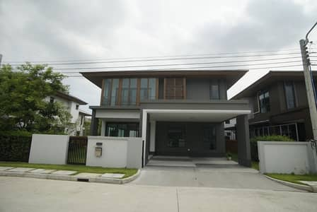 4 Bedroom Home for Sale in Suan Luang, Bangkok - H487-2 storey detached house for sale, Burasiri Phatthanakan (new house), empty house complete facilities, convenient transportation
