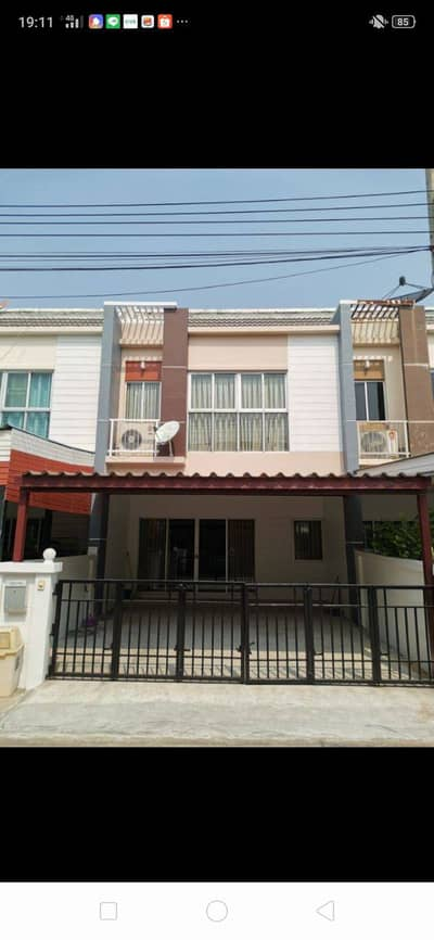 3 Bedroom Townhouse for Rent in Prawet, Bangkok - For Rent 2-storey townhome Nara Town