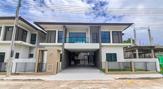 4 Bedroom Home for Sale in San Kamphaeng, Chiangmai - CM0371 Pool Villa for sale. Takes only 10-15 minutes to reach the city. 4 bedrooms and 4 bathrooms, 78 sq. wa.