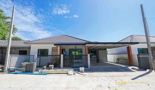 3 Bedroom Home for Sale in San Sai, Chiangmai - CK0611 Single-storey house for sale. Takes only 10-15 minutes to reach the city. 3 bedrooms and 2 bathrooms, 45 sq. wa.
