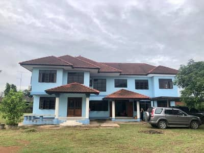 9 Bedroom Home for Sale in Si Mahosot, Prachinburi - House for sale in Khok Thai Subdistrict, Si Mahosot District, Prachinburi Province, 2 floors, free transfer fee, good atmosphere, close to nature Suitable for making office rooms