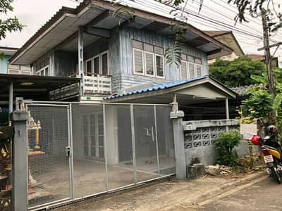 4 Bedroom Home for Sale in Thung Khru, Bangkok - 2 storey detached house for sale in Soi Pracha Uthit 54, intersection 12 or access to Pracha Uthit 60